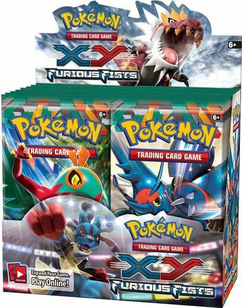 Pokémon Trading Card Game: XY Furious Fists Booster Box