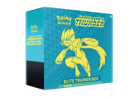 Pokémon TCG: Sun & Moon Lost Thunder Elite Trainer Box - BigBoi Cards