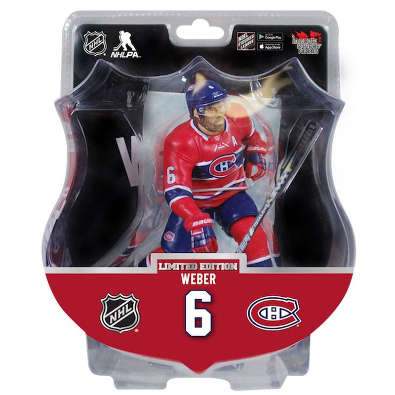 Shea Weber Montreal Canadiens Limited Edition 6 inch Figurine - BigBoi Cards
