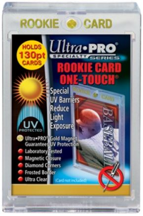Ultra Pro UV ROOKIE ONE-TOUCH Magnetic Holder 130PT (Lot of 5)