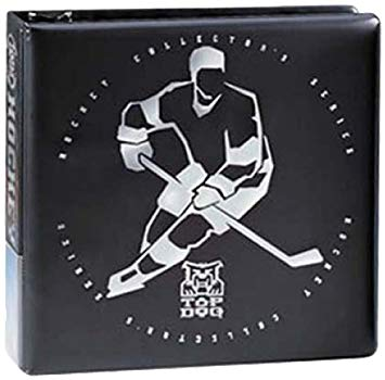 "Ultra Pro 3"" Top Dog Hockey Album (Black) - BigBoi Cards"