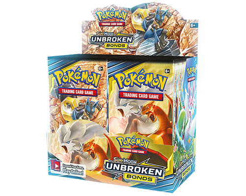Pokémon SM10 Unbroken Bond Booster Sealed Box