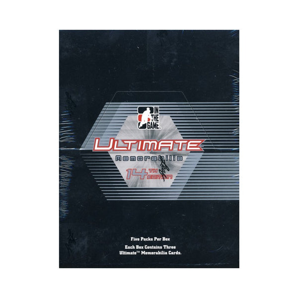2014-15 Leaf Ultimate Memorabilia 14th Edition Hobby (5 Pack Sealed Box) - BigBoi Cards