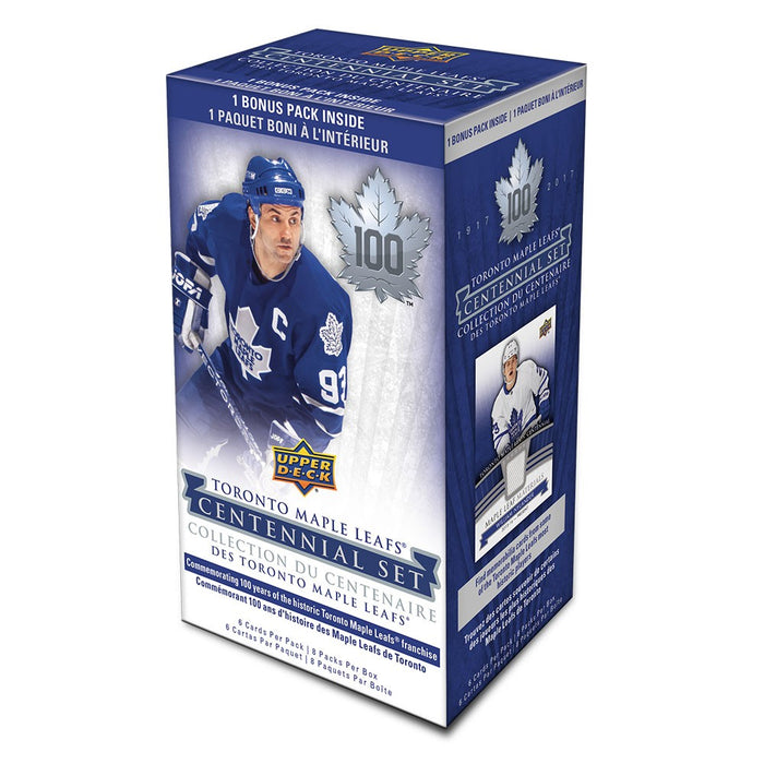 2017-18 Upper Deck Toronto Maple Leafs Centennial Blaster Box