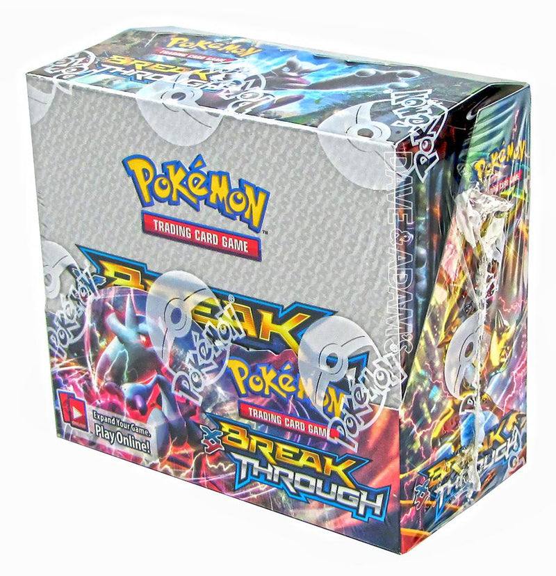 Pokémon TCG: BreakThrough Booster Case (Boxes of 6) - BigBoi Cards