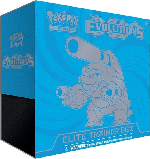 Pokémon TCG XY Evolutions Blue - Elite Trainer Box - Quecan Distribution