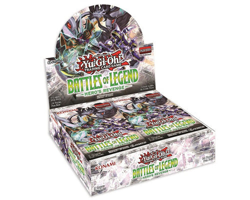 Konami Yu-Gi-Oh! TCG: Battles of Legend: Hero's Revenge First Edition Booster Box - BigBoi Cards