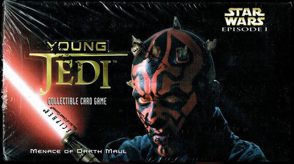 Decipher - Star Wars Young Jedi: Menace of Darth Maul Starter Deck Box - BigBoi Cards