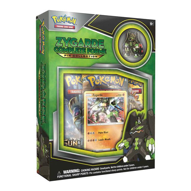 Pokemon Zygarde  Pin Collection Box - BigBoi Cards