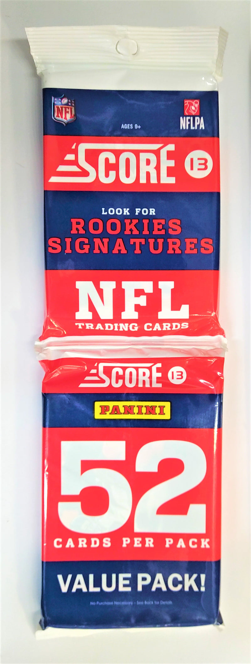 2013 Score Football Pack (5 Packs a Lot) - BigBoi Cards