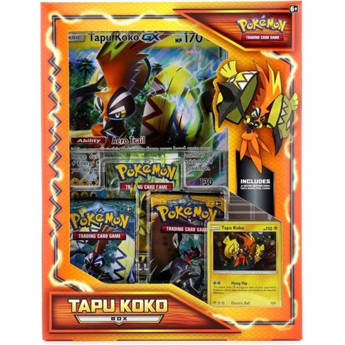Pokemon Tapu Koko Box - BigBoi Cards