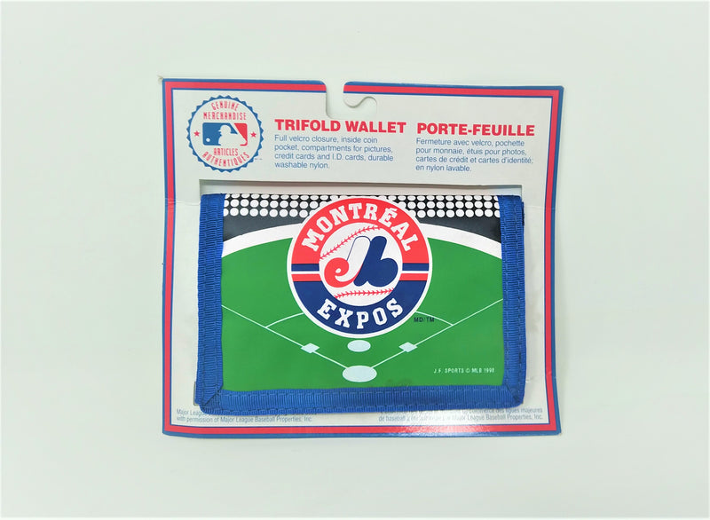 Montreal Expos  Tri-Fold Wallet & Coin Pocket - BigBoi Cards