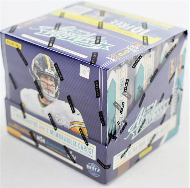 2019 Panini Absolute Football Hobby Box - BigBoi Cards