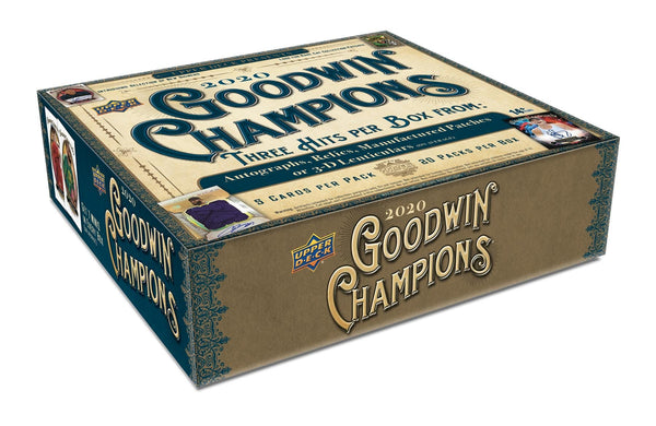 2020 Upper Deck Goodwin Champions Hobby Box - BigBoi Cards