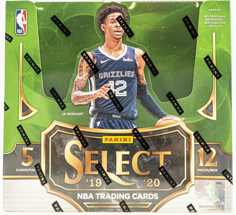 2019-20 Panini Select NBA Basketball Hobby Box - BigBoi Cards