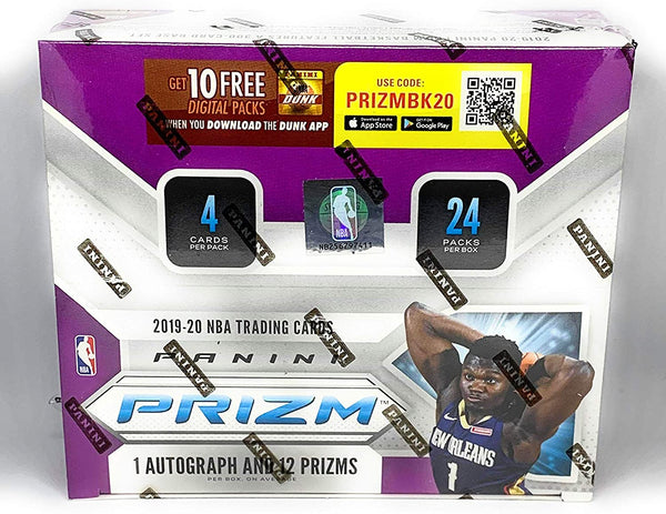 2019-20 Panini Prizm Basketball 24-Pack Retail Box - BigBoi Cards