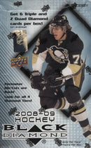2008-09 Upper Deck Black Diamond Hockey Hobby Box - BigBoi Cards