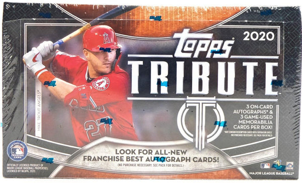 2020 Topps Tribute Baseball Hobby Box - BigBoi Cards