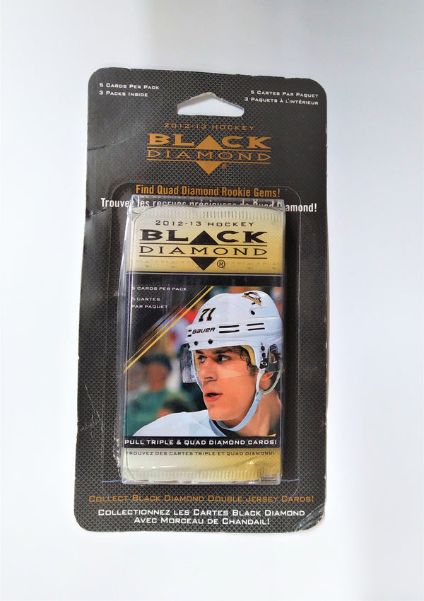 2012-13 Upper Deck Black Diamond Hockey Blister Pack (5 Blister Packs a lot) - BigBoi Cards