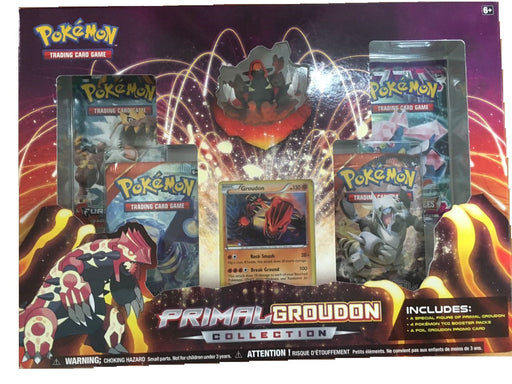 Pokémon TCG: Primal Groudon Collection Box - Quecan Distribution