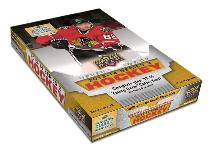 2013-14 Upper Deck Series 2 Hockey Hobby Box - BigBoi Cards