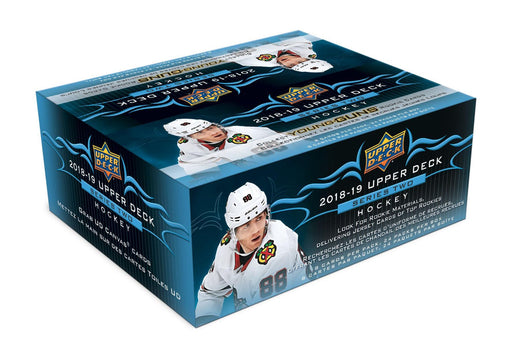 2018-19 Upper Deck Series 2 Hockey Retail Box