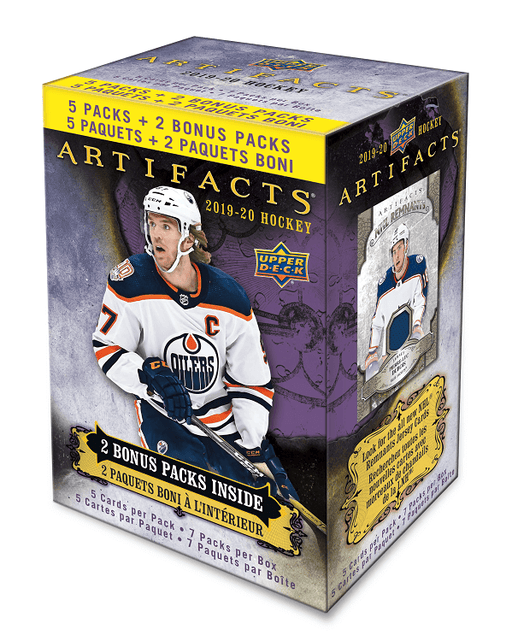 2019-20 Upper Deck Artifacts Hockey Blaster Box - Quecan Distribution