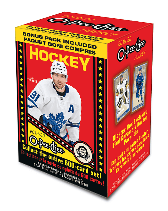 2019-20 Upper Deck O-Pee-Chee Hockey Blaster Box - Quecan Distribution