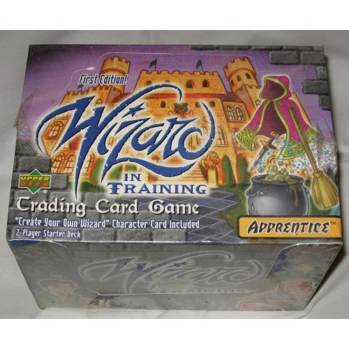 Upper Deck Wizard in Training 1st Edition 2 Player Starter Deck Box