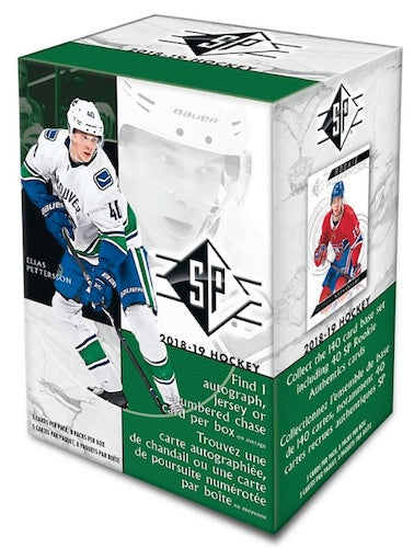 2018-19 Upper Deck SP Hockey Blaster Box - BigBoi Cards