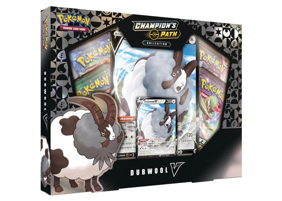 Pokemon Champion's Path Dubwool V Collection Box