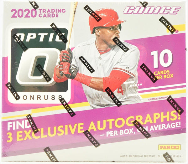 2020 Panini Donruss Optic Choice Baseball Hobby Box