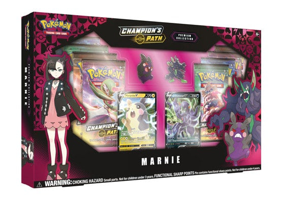 Pokemon Champion's Path Marnie Premium Collection Box - BigBoi Cards