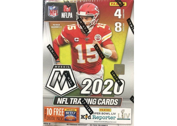 2020 Panini Mosaic Football Blaster Box - BigBoi Cards