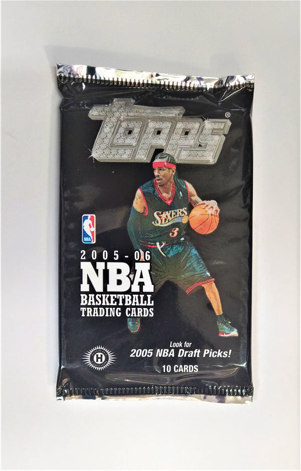 2005-06 Topps Basketball Hobby Packs (7 packs a lot) - BigBoi Cards