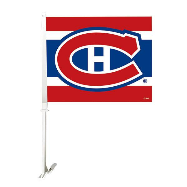 Montreal Canadiens Car Flag - BigBoi Cards