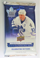 2017-18 Upper Deck Toronto Maple Leafs Centennial Hockey Hobby Pack (24 Packs a Lot) - BigBoi Cards