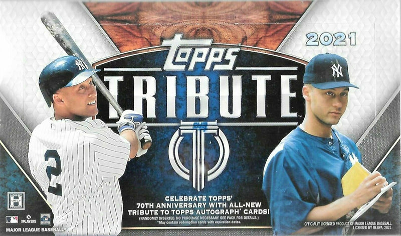 2021 Topps Tribute Baseball Hobby Box - BigBoi Cards