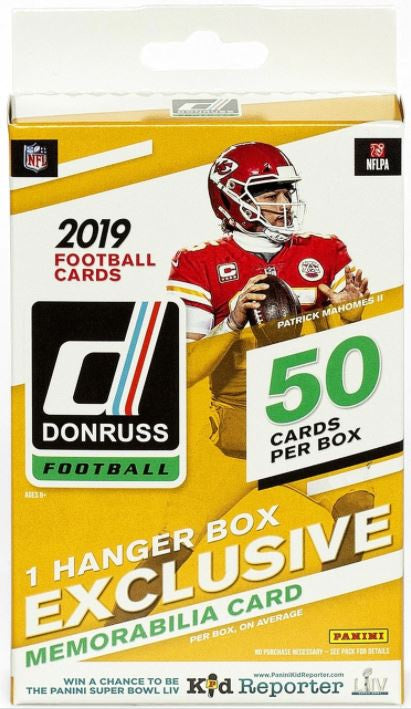 2019 Panini Donruss  Football Hanger Box - BigBoi Cards