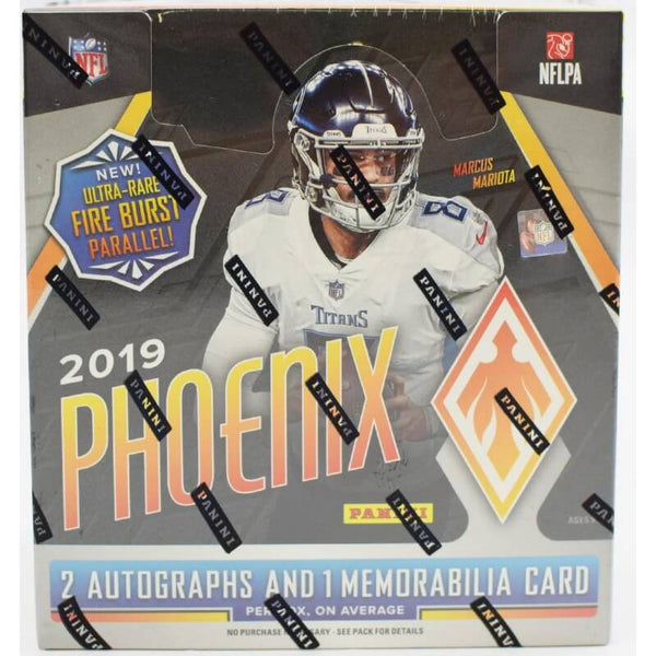 2019 Panini Phoenix Football Hobby Box - BigBoi Cards