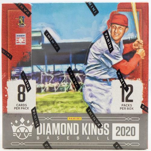2020 Panini Diamond Kings Baseball Hobby Box - BigBoi Cards