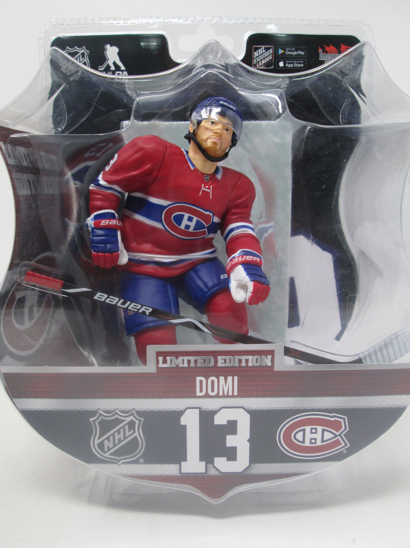 "Max Domi Montreal Canadiens 2019-20 Imports Dragon 6"" Player Replica Figurine - BigBoi Cards"