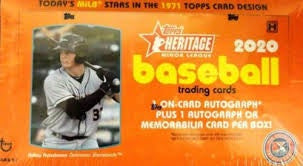 2020 Topps Heritage Minor League Baseball Hobby Box - BigBoi Cards