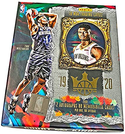 2019-20 Panini Court Kings NBA Basketball Hobby Box - BigBoi Cards