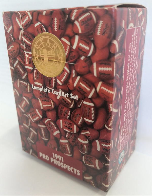 1991 Star Pics Pro Prospects NFL Football Box - BigBoi Cards