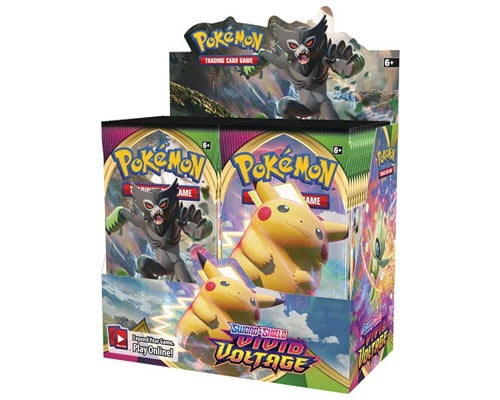 Pokemon Sword & Shield: Vivid Voltage Booster Case (Boxes of 6) - BigBoi Cards