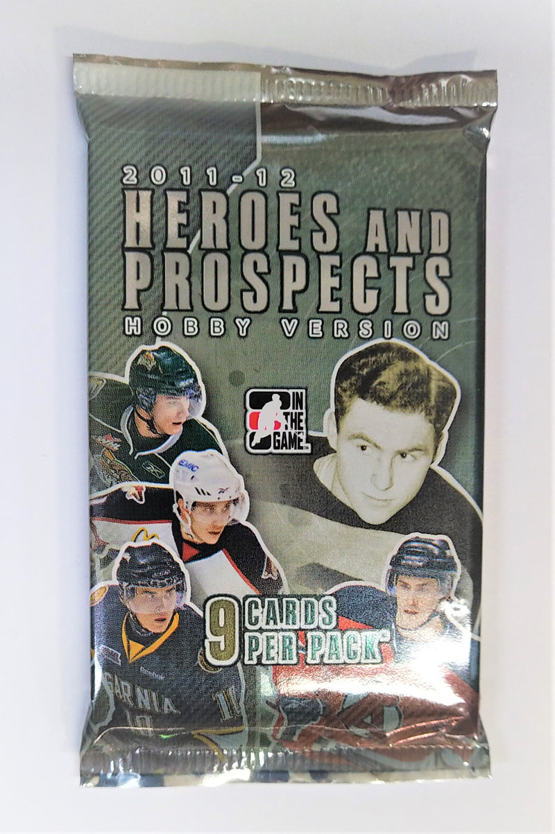 2011-12 ITG Heroes & Prospects Hobby Pack (24 Packs A Lot) - BigBoi Cards