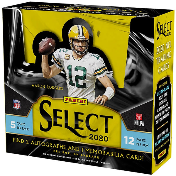 2020 Panini Select Football Hobby Box - BigBoi Cards