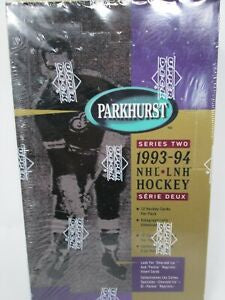 1993-94 Upper Deck Parkhurst Series 2 NHL Hockey Hobby Box - BigBoi Cards