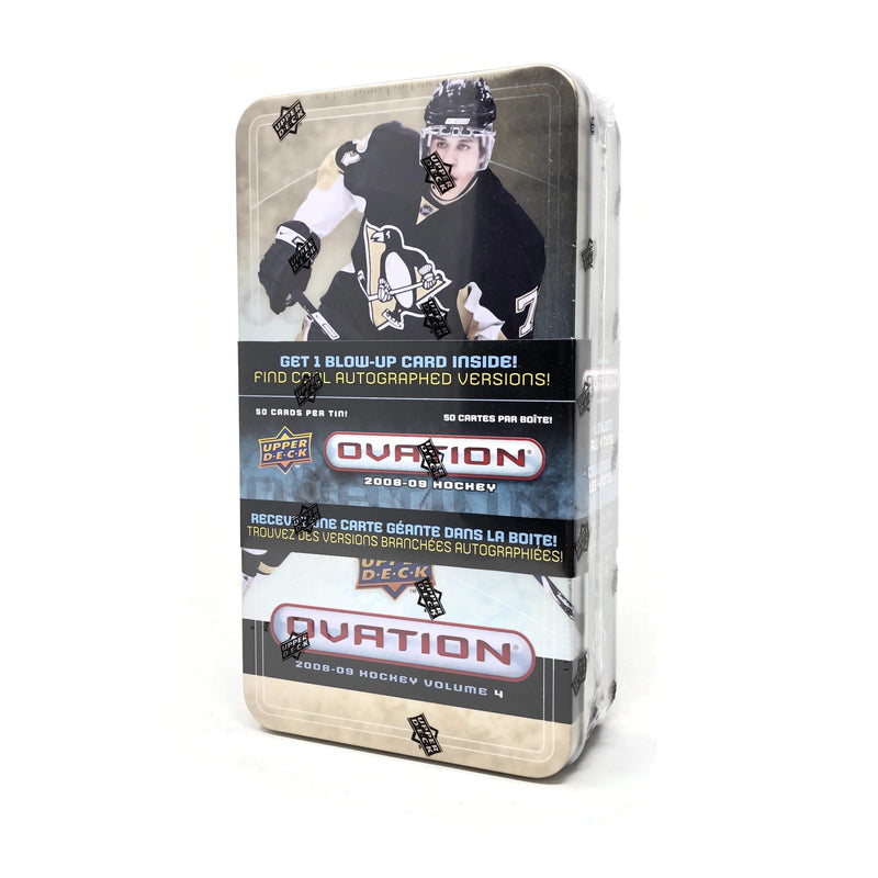2008-09 Upper Deck Ovation Hockey Tin Volume 4 - BigBoi Cards